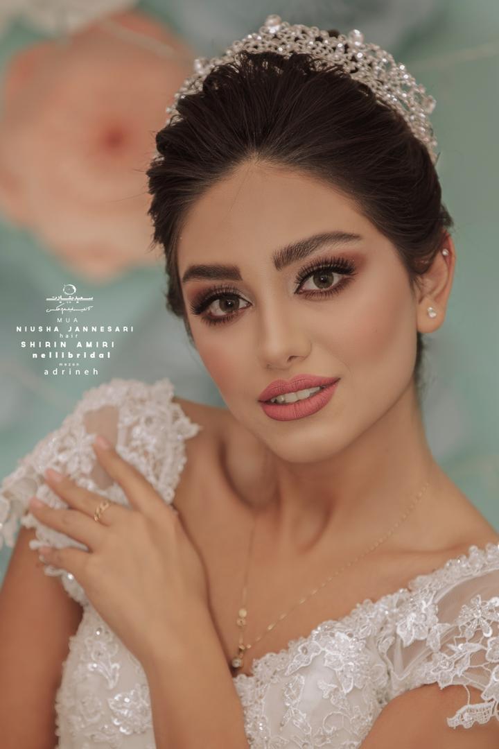 بهترین میکاپ عروس اصفهان