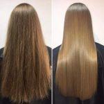 مراقبت های بعد از کراتین مو
